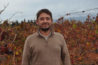 Matthieu Pichenot new oenologist in Biniagual